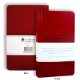 The Great Prophetic Books of Daniel and Revelation: A Bible Study Journal (red)