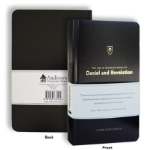 The Great Prophetic Books of Daniel and Revelation: A Bible Study Journal (black)
